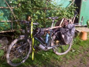 A Low Impact Gardener's Bike