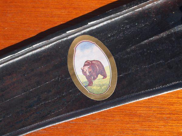 Scythe Blade Bear Sticker